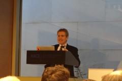 Il Prof. Cascini presenta il Prof. Scavia, lecturer 2016